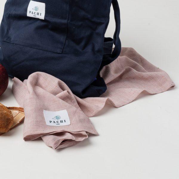 langes et sac à dos upcyclés Pachi